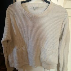 Madewell Sweaters - Madewell Patch Pocket Sweater